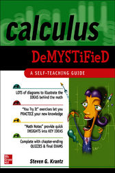 Calculus Demystified by Steven Krantz