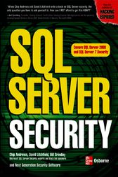 SQL Server Security by David Litchfield