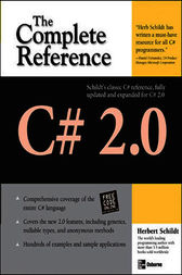 C# 2.0: The Complete Reference by Herbert Schildt