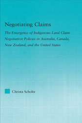 Negotiating Claims by Christa Scholtz