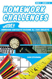 Homework Challenges - Book 3