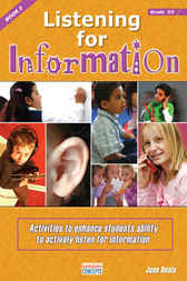 Listening for Information - Book 2 by Graeme Beals
