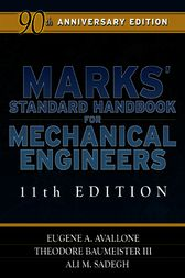 Marks' Standard Handbook for Mechanical Engineers by Eugene Avallone