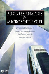 Business Analysis with Microsoft Excel, (Adobe Reader) by Conrad Carlberg