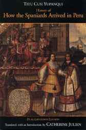 History of How the Spaniards Arrived in Peru
