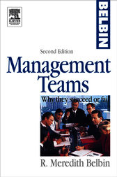 Management Teams by R Meredith Belbin