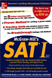 McGraw-Hill's SAT I, Second edition by Christopher Black