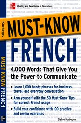Must-Know French by Eliane Kurbegov