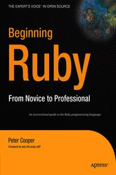 Beginning Ruby by Kenneth Cooper