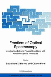 Frontiers of Optical Spectroscopy by Baldassare Di Bartolo