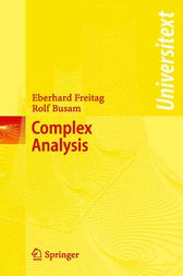 Complex Analysis by Eberhard Freitag