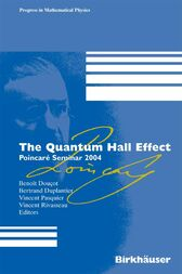The Quantum Hall Effect by Benoît Douçot