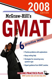 McGraw-Hill's GMAT, 2008 Edition by James Hasik