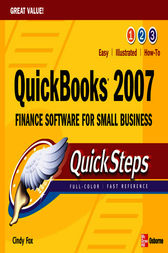 QuickBooks 2007 QuickSteps by Cindy Fox