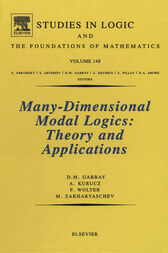 Many-Dimensional Modal Logics: Theory and Applications by A. Kurucz