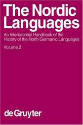 The Nordic Languages. Volume 2 by De Gruyter