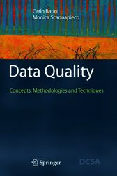 Data Quality by Carlo Batini