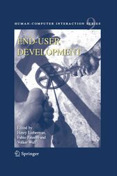 End User Development by Henry Lieberman