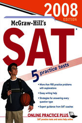 McGraw-Hill's SAT, 2008 Edition book only by Christopher Black