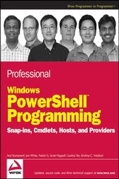 Professional Windows PowerShell Programming by Arul Kumaravel