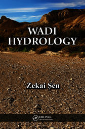 Wadi Hydrology by Zekai Sen