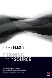 Adobe Flex 3 by Jeff Tapper