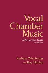 Vocal Chamber Music, Second Edition by Barbara Winchester