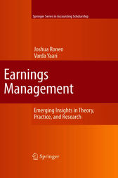 Earnings Management by Joshua Ronen