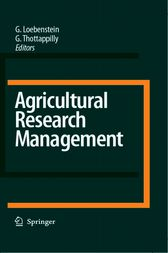 Agricultural Research Management by G. Loebenstein