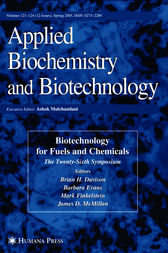 Twenty-Sixth Symposium on Biotechnology for Fuels and Chemicals by Brian H. Davison