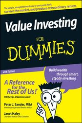 Value Investing For Dummies by Peter J. Sander