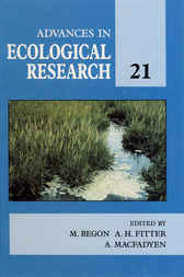 Advances in ecological research by Michael Begon