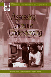 Assessing Science Understanding by Joel J. Mintzes