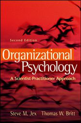 Organizational Psychology by Steve M. Jex