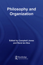 Philosophy and Organization by Campbell Jones