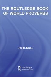 The Routledge Book of World Proverbs