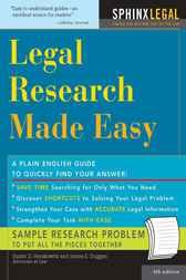 Legal Research Made Easy by Suzan Herkowitz