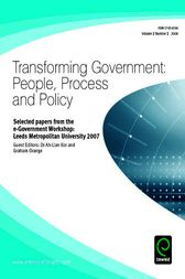 Selected Papers from the E-Government Workshop