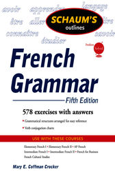 Schaum's Outline of French Grammar, 5ed by Mary Crocker