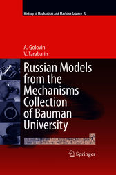 Russian Models from the Mechanisms Collection of Bauman University by A. Golovin