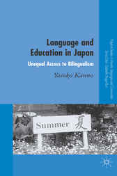 Language and Education in Japan by Yasuko Kanno