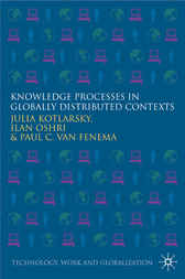 Knowledge Processes in Globally Distributed Contexts