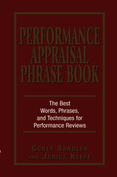 Performance Appraisal Phrase Book by Corey Sandler