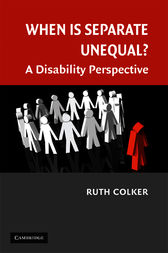 When is Separate Unequal? by Ruth Colker