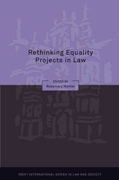 Rethinking Equality Projects in Law by Rosemary Hunter