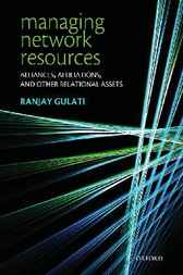 Managing Network Resources by Ranjay Gulati