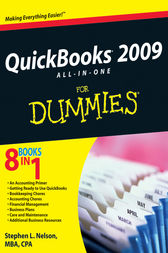 QuickBooks 2009 All-in-One For Dummies by Stephen L. Nelson