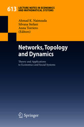 Networks, Topology and Dynamics by Ahmad K. Naimzada
