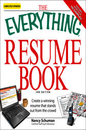 The Everything Resume Book by Nancy Schuman