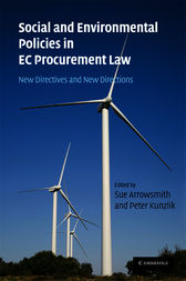Social and Environmental Policies in EC Procurement Law by Sue Arrowsmith